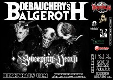 Full Metal Night: DEBAUCHERY's BALGEROTH  und Sweeping Death